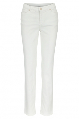 Witte basic fit jeans
